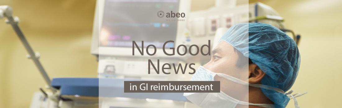 No Good News in GI Reimbursement