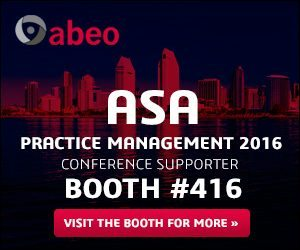 ASA Practice Management 2016 Conference Supporter