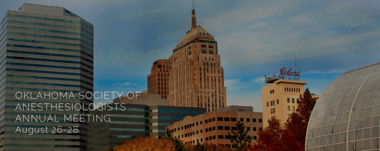 Oklahoma Anesthesiologists Annual Meeting