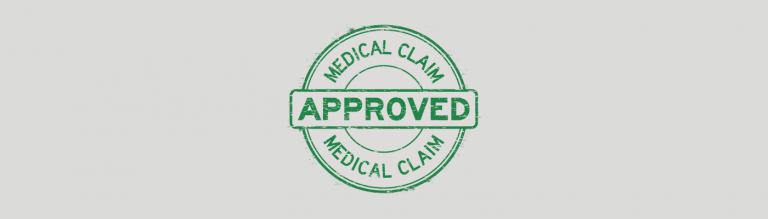 medical claim approved stamp