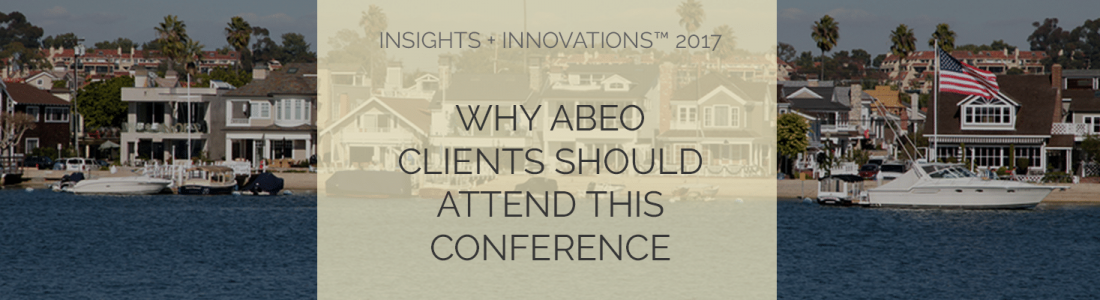 Why abeo clients should attend the i2 conference