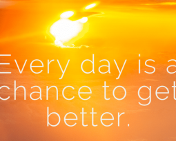 Every Day is a Chance to be Better: A Vision from Our President