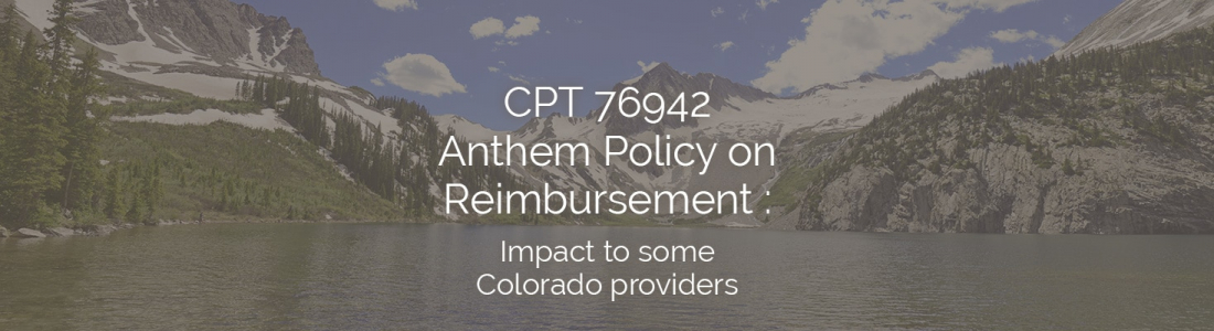 Anthem CPT 76942 Reimbursement Policy