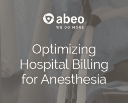 Optimizing Hospital Billing for Anesthesia
